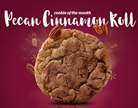 eegee's monthly print ads - cookies