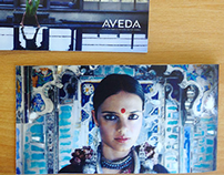 Aveda Retail Mall Promotional Booklet