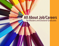 All About Job/Careers for Masters & Doctoral Graduates