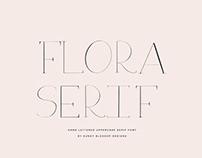 FLORA SERIF - FREE FONT