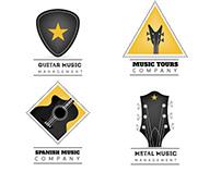 Guitar Logo Collections