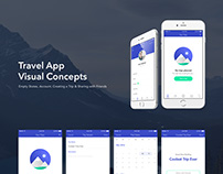 Travel App - Visual Concepts