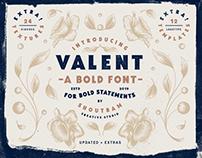 Valent - Bold Serif Font