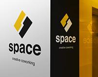 Space logo design
