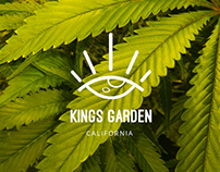 KINGS GARDEN inc. | Branding Design for Marijuana Farm