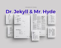 Dr. Jekyll & Mr. Hyde / Sistema de Páginas Editorial