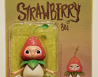 Strawberry Boi - Toy Design