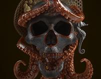 Trypo-Tentacle Skull