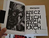 Book design / Gabriel Garcia Marquez
