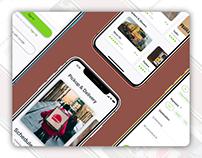 Concept UI/UX Design for Pickup & Delivery App