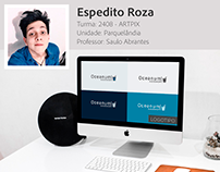 Logotipo criado pelo aluno Espedito Roza