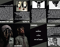 Inspiration Booklet about Ian Connor (Stylist)