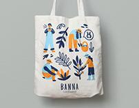 Tote-bag Illustration for Banna