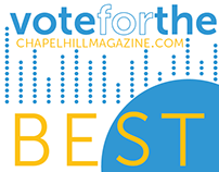 """Best of Chapel Hill"" Branding"