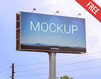 Billboard – Free PSD Mockup