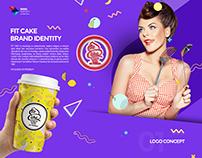 FitCake brand identity