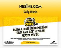 Nesine.com - Daily Works