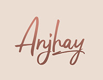 Anjhay Script font - free for commercial use