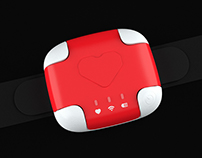 """Opeka"" - heart rate sensor for people of age"