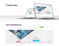 Whitewall · Responsive Web
