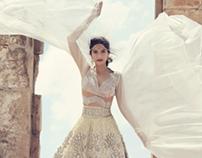 Harper's Bazaar Bride - Sonam Kapoor cover