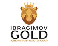 "Logo design for the jewelry workshop ""Ibragimov gold"""