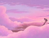 Floating in the Clouds