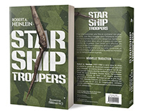 Starship Troopers - Book cover design