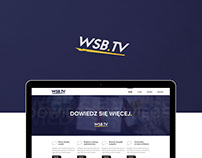 WSB.TV - webdesign & logo