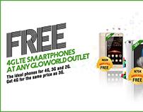 Globacom Free Phone Campaign