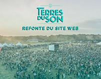 Festival Terres du Son - Refonte du site web