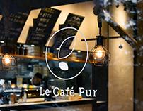 Le Café Pur Visual Identity