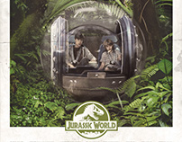 JURASSIC WORLD // Alternative Movie Poster
