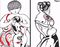 Le Gigantesse alla Florence Tattoo Convention