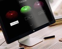 Apple Webdesign