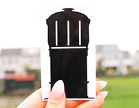 Watertoren stickers