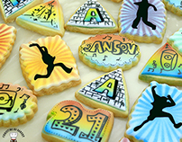 Graffiti Cookies - Christine Ko Bakery