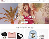 E-Commerce. Redesign