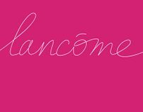 Lancôme Bespoke Fonts