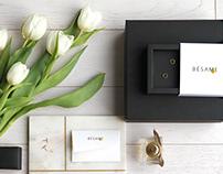 Besame / jewelry branding & packaging