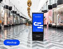 Digital Lightbox 04 | Signage Mockup Template