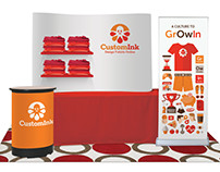 CustomInk Career Fair Display Concept