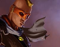 Brix Cannon Spacepunk Gunslinger