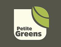 Petite Greens Branding