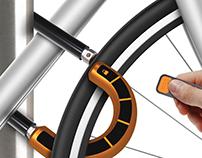 Eink - Ring Bike Lock
