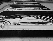 Jedi Printmaking - Student Work