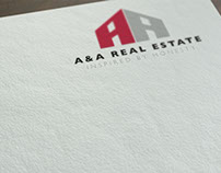 AA real Group : Logo & Branding