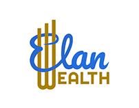 Elan wealth - 2018, Logo & stationary design