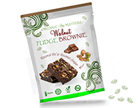 Walnut brownie package design
