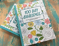 JMM: 100 Day Challenge Journal & Coloring Book